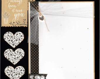 I Always Knew It was YOU -  Wedding 2 Page Scrapbooking Layout Kit