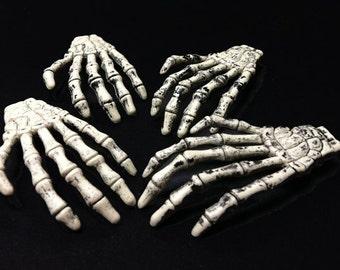 10 Skeleton Hands, Gothic, Halloween
