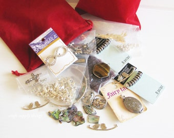 Jewelry Making Bulk Bag, Jewelry Making Grab Bag, Craft Making Grab Bag, Grab Bag 2