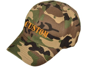 Personalized Camouflage Cap
