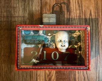 Assemblage Art, iPhone Box Art, 3D art, Found Objects