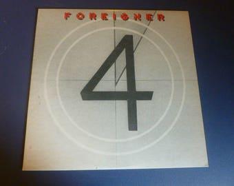 On Sale! FOREIGNER 4 Vinyl Record SD 16999 Atlantic Records 1981