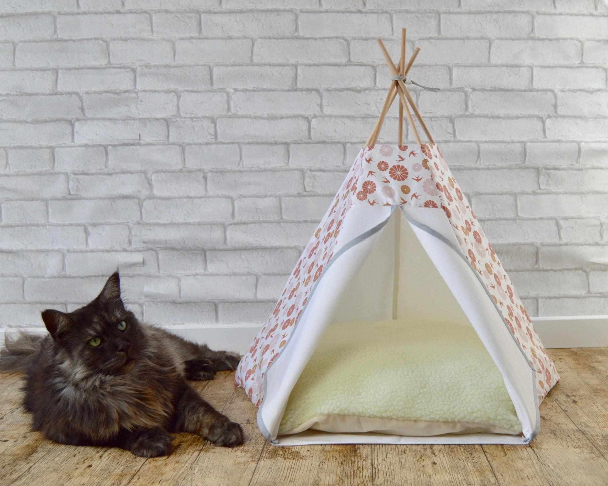 lit chat tipi chat meuble animaux tipi chien accessoires. Black Bedroom Furniture Sets. Home Design Ideas