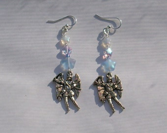 Archangel Michael Saint Michael Earrings