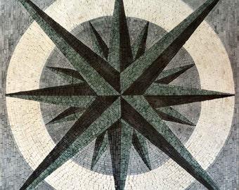 Nautical Mosaic Square - Doriis