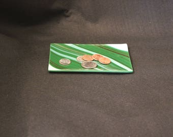 coin tray (coins not included), tea bag tray, ring tray