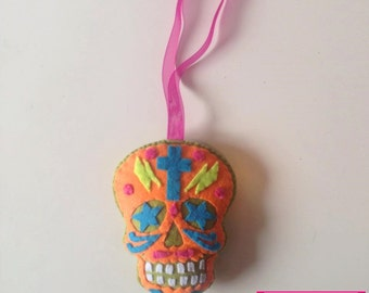Calaverita orange and green