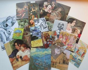 """Collage kit """"ART"""" clippings, art kit, paper goodies, journaling, scrapbooking"""