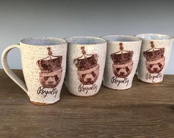 Handmade ceramic mug (Royalty Panda)