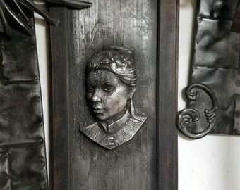 Woman In Carbonite *Original Sculpture