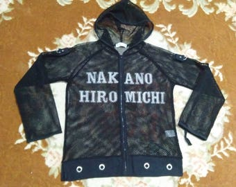 vintage nakano hiromichi sweater hooded for womens fits to size xs