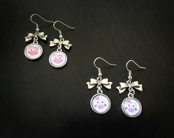 Owls, owls earrings earrings