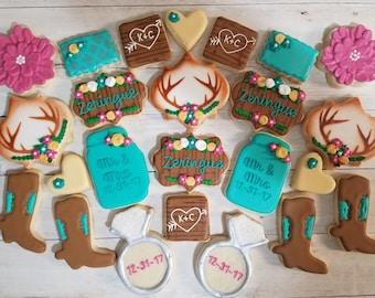 Western Theme Sugar Cookies