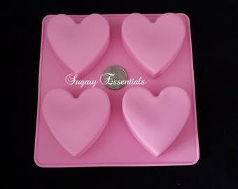 4 Pcs. Heart Oreo Mold