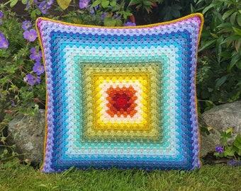 Crochet Cushion - Cushion - Decorative Pillow - 50cm Cushion