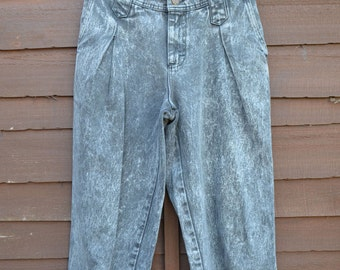Ladies Vintage High Waisted Denim Jeans >> W26