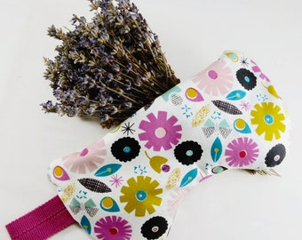 Washable Flax seeds and Lavender eye pillow, Flax seeds eye pad, Aromatherapy eye pillow, Relaxation pillow, Yoga eye pillow