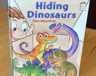 Hiding Dinosaurs children's book