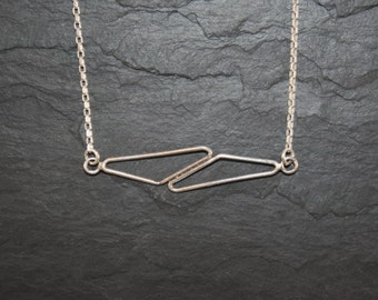 Necklace imbrication pendant