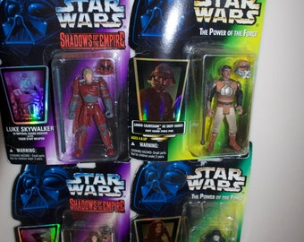 Choose One: Star Wars 1996 Action Figure Power of the Force Shadows of the Empire Luke Skywalker Lando Calrissian Leia Emperor Palpatine