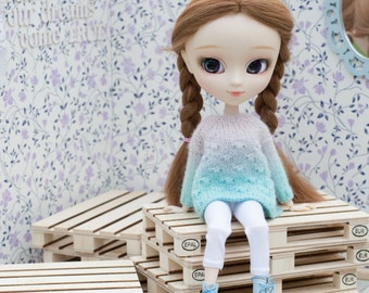 3pc Miniature Euro EPAL EUR Pallet Unpainted BJD Pullip, Blythe Barbie  Tonner Furniture, Diorama