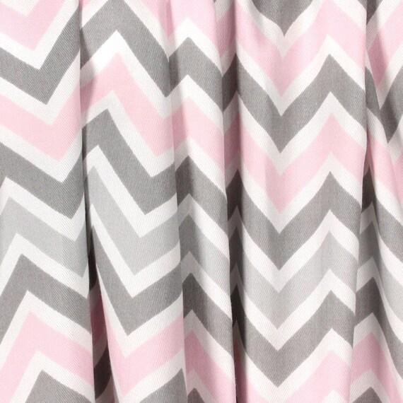 Lichte Baby roze grijze gordijnen kinderkamer gordijn panelen