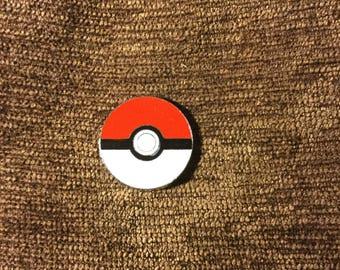 poke ball hat pin