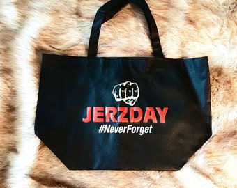 Jersey Shore Bag Jerzday Bag Snooki Bag Graphic Tote Bag