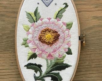 Lotus (Original Embroidery)