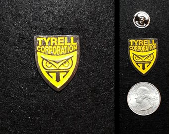 Tyrell Corporation (Blade Runner) 1 inch Lapel Pin or Magnet