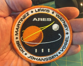 The Martian: ARES III Mission Patch, New Design! New Price!