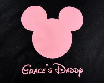Personlized Custom Mouse Ears mens custom shirt