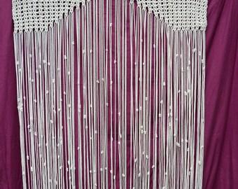 Door Macrame curtain
