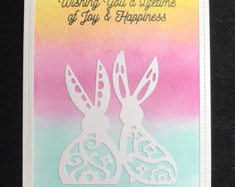 Wishing You A Lifetime Of Joy & Happiness Greeting Card