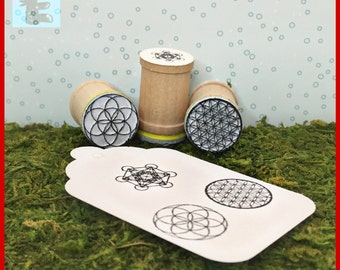 Flower of Life, Seed of Life, Metatron's Cube Trio