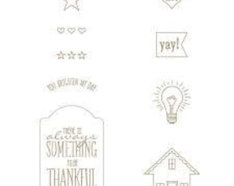 You Brighten My Day (Wood) - Stampin Up (NEW)