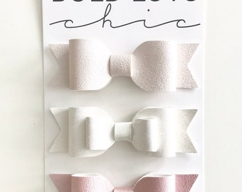 Dainty Little Bows For Baby||Toddler||Little Girl||Headband|Clip
