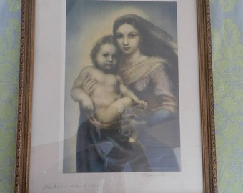 Madonna and Child Print