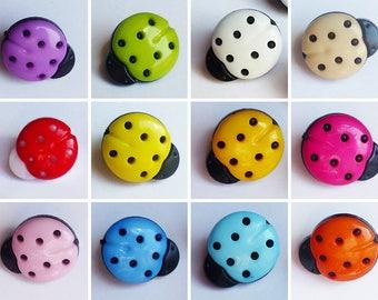 set Ladybug buttons * 1.5 cm * choice of color