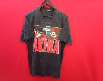 vintage akira anime japan cyberpunk  large mens t shirt