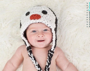 Penguin Hat - Baby Penguin Hat - Baby Hat - Penguin Beanie - Penguin Costume Hat - Children's HatJoJo's Bootique