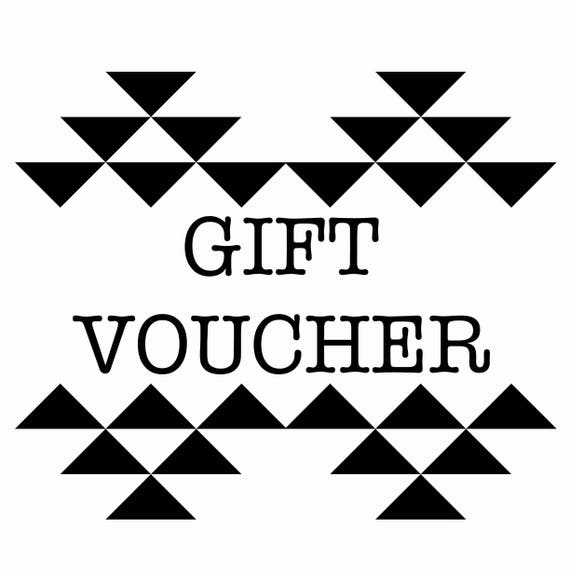 Stuff Made From Things Gift Voucher - Birthday - Christmas - Wedding - Bridesmaid - Mothers Day - Valentines - Best Friend - Girl Friend -