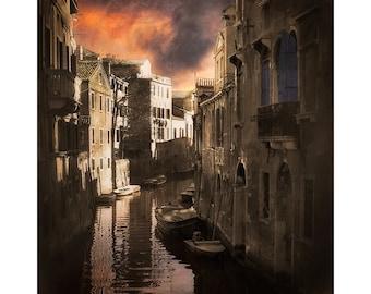 Venice Photography,The Floating City, Veneza , Canals Of Venice, Painterly Photography, Venice Italy, Large Wall Art