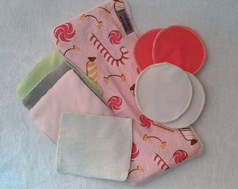 Nursing package (wipes, nursing pads and soft rectangle)