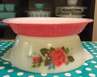 "Pyrex Pink Flamingo 9"" Pie Plate"