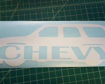 Chevrolet Tahoe decal