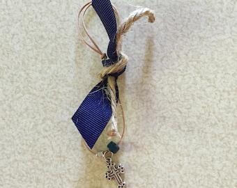 Tied Navy Martyrika Bracelets-Made to Order
