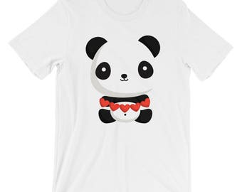 I Love You Panda T-shirt Panda Lover Tee