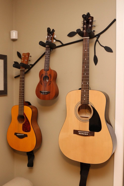 branch shaped guitar holder guitar stand musical instrument. Black Bedroom Furniture Sets. Home Design Ideas