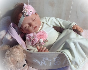 Newborn Girl Take Home Gown, Newborn Gown, Baby Girl Coming Home Outfit, Newborn Girl Photo Outfit